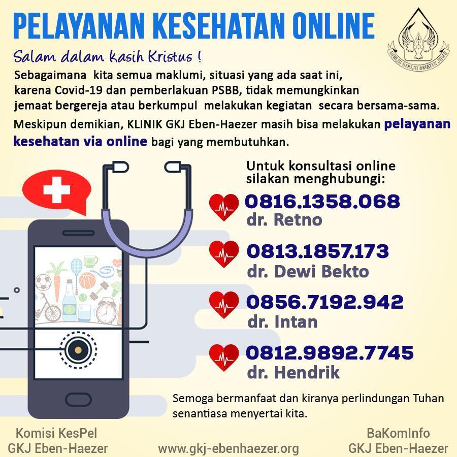 Pelayanan Kesehatan Online