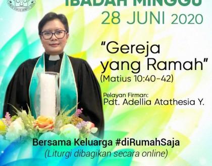Ibadah 28 Juni 2020